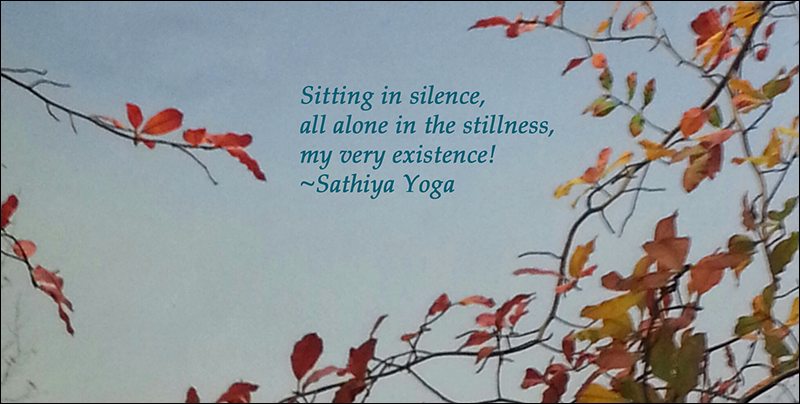 Yoga Haiku, Sathiya Yoga
